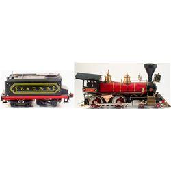 Metal Replica of the Engine 'Reno'