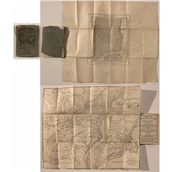 American Railway Pocket Guide (1852) w/ Map