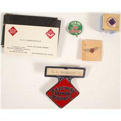 Wells Fargo Agent Greenawalt Button and Badges