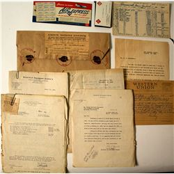 Wells Fargo: Personal Employee Papers of George Garfield Greenawalt