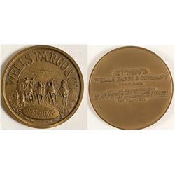 Wells Fargo Bronze Medal
