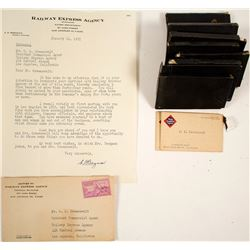 Greenawalt Retirement Papers from Railway Express Agency