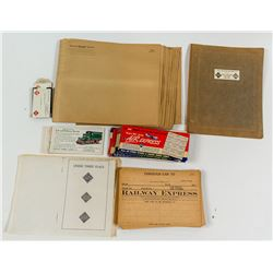 REA Unused Papers from Greenawalt Collection