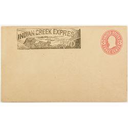 Rare Indian Creek Express Cover