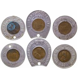 Roundup Encased Penny Tokens