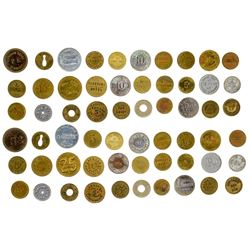31 Montana Small Towns Tokens