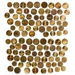 Huge Brass Montana Token Collection