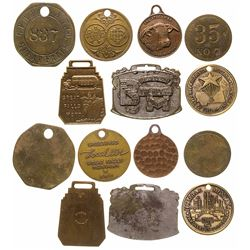 Medals, Fobs from Montana