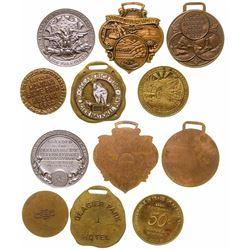 Six Different Montana Medals