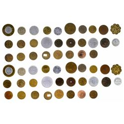 Lot of 27 Various Tokens