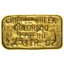 Cripple Creek Gold Ingot (c.1990)