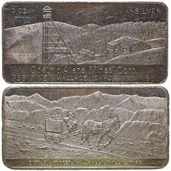 Coeur d'Alene Mines Corp. Silver Art Bar