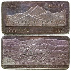 Consolidated Silver Corp. Silver Art Bar