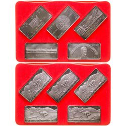 Five Out of the West Silver Art Bars