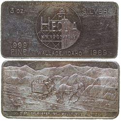 Hecla Mining Company Silver Art Bar