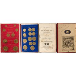 New Varieties of Coins and Bullion, Eckfeldt and Du Bois, 1850 w/ Original Gold Samples