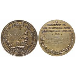 CA State Agricultural Society Medal