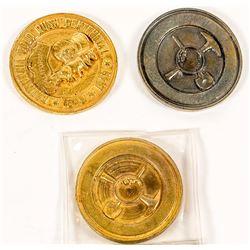 California Gold Rush Centennial Dollar (HK-501)