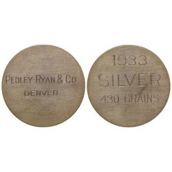 Pedley-Ryan & Co. Dollar