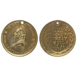 1876 Jersey City / George Washington Medal