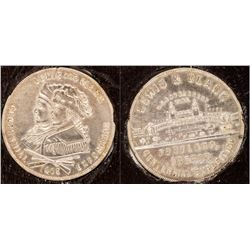 Lewis & Clark Centennial Expo. U.S. Government Building Dollar (HK-328)