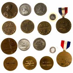 ANA Eight Award Medals (Silver & Bronze)