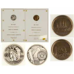 ANA Medals Awarded to Abe Kosoff