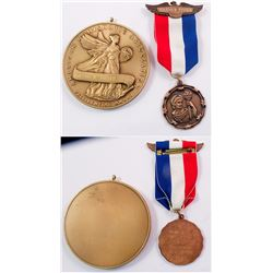 ANA Two Award Medals to R.W. Finner