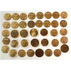 ANA: 38 Bronze Medals for Merit of Exhibit