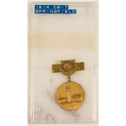 ANA 1914 Springfield Massachusetts Convention Badge