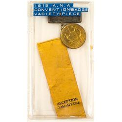ANA 1915 Convention Badge