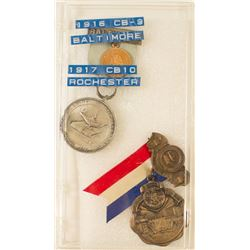 ANA 1916 & 1917 Convention Badges (Rochester & Baltimore)