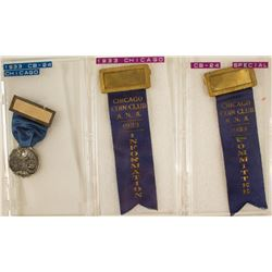 ANA 1933 Chicago Convention Badge & Other Items