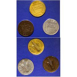 ANA 1946 Davenport, Iowa Convention Medals