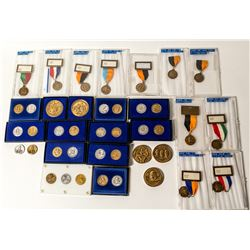 ANA Official Show Medals & Badges, 1985 to 1989