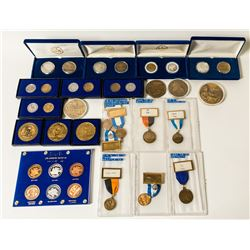 ANA Annual Medals & Convention Badges, 1990 to 1994
