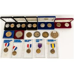ANA Annual Convention Badges & Medals, 1995 to 1999