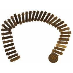 ANA Long Membership Pin/Badge w/ Rectangular Years, 1958-1994