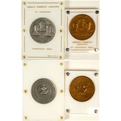 ANA 75th Anniversary Congressional Medal to US Mint Director Adams