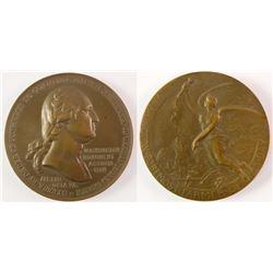 Washington Medal: Congressional Memorial of Death
