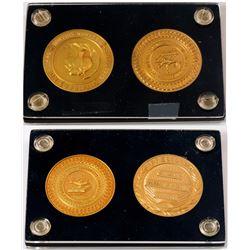 ANA Presidential & Membership Gold Medals for M. Vernon Sheldon