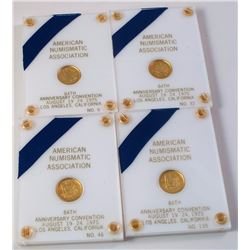 ANA 84th Anniversary Convention: Four Gold Medals