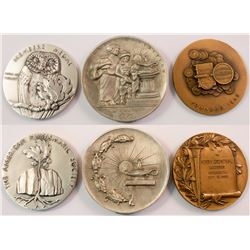Three Coin Medals: ANA, ANS, PNG