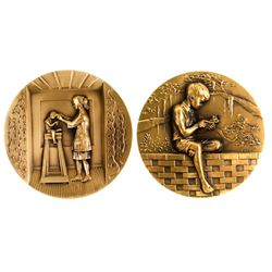 Brookgreen Gardens. Medal Number Twenty-Three, 1995