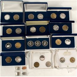 Central States Numismatic Society: Multiple Medal Sets