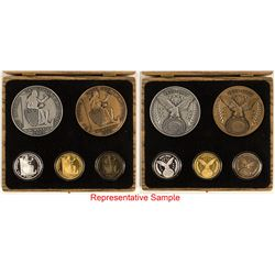 Central States Numismatic Society: Annual Medal Sets & Badges
