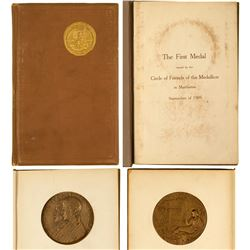 Circle of Friends of the Medallion: 1909 Book and 1st Medallion