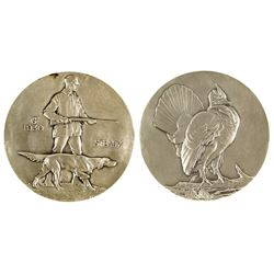 Society of Medalists: Hunter and dog