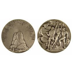 Society of Medalists: Pegasus and men