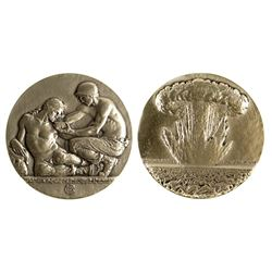 Society of Medalists: Wounded Soldier